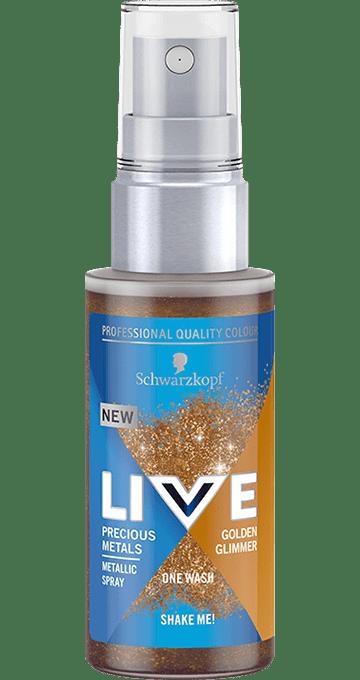LIVE Colour Precious Metals Gold Glimmer 50ml