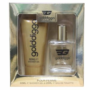 Golddigga Gold Fragrance Duo Gift Set