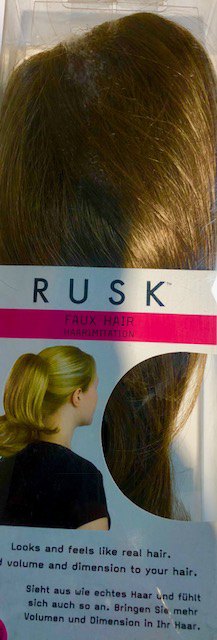 Rusk Faux Hair Sunset Golden Brown Hair Extension