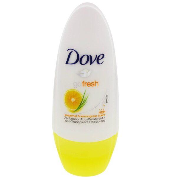 Dove Go Fresh Grapefruit + Lemongrass Roll-On Deodorant 50ml