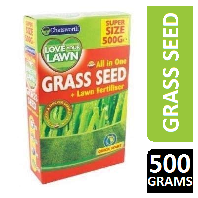 Chatsworth Love Your Lawn All In One Grass Seed 500g