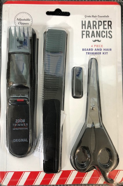 Harper Francis 4 Piece Beard and Hair Trimmer Kit