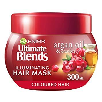 Garnier Cranberry & Argan Oil Hair Mask 300ml