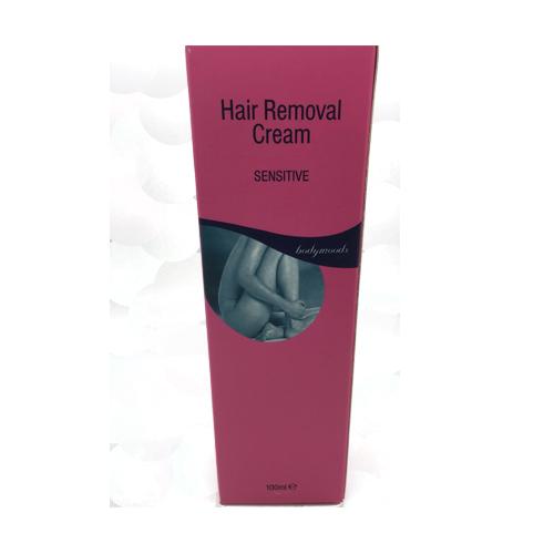 HAIR REMOVER CREAM TUBE SENSITIVE 100ML BODY MOODS