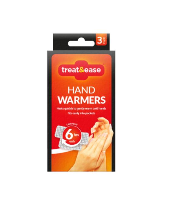 Instant Heat Relief Hand Warmers 3pk
