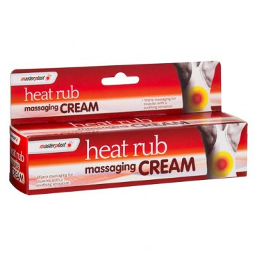 Masterplast Heat Rub Massaging Cream 70g