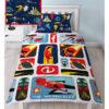 Incredibles 2 Retro Single Duvet Cover And Pillowcase Set