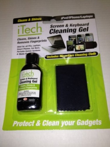 ITech Cleaning Gel 50ml & Cloth