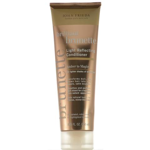 john frieda brilliant brunette light reflecting moisturizing conditioner