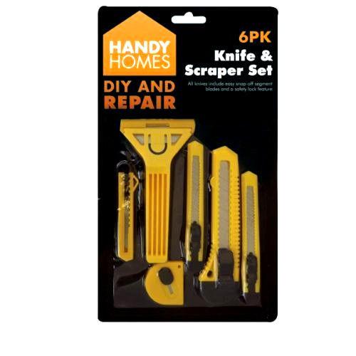 Handy Homes Knife And Scraper Set 5PK