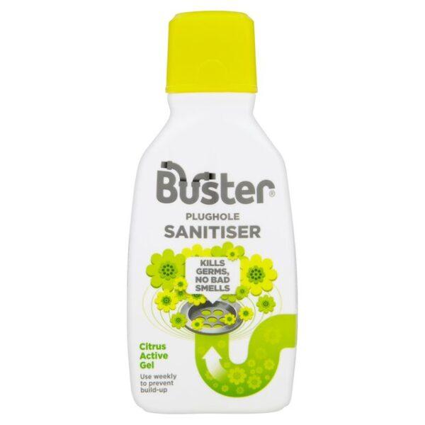 Buster Plug Hole Sanitiser Citrus Active Gel 300ml