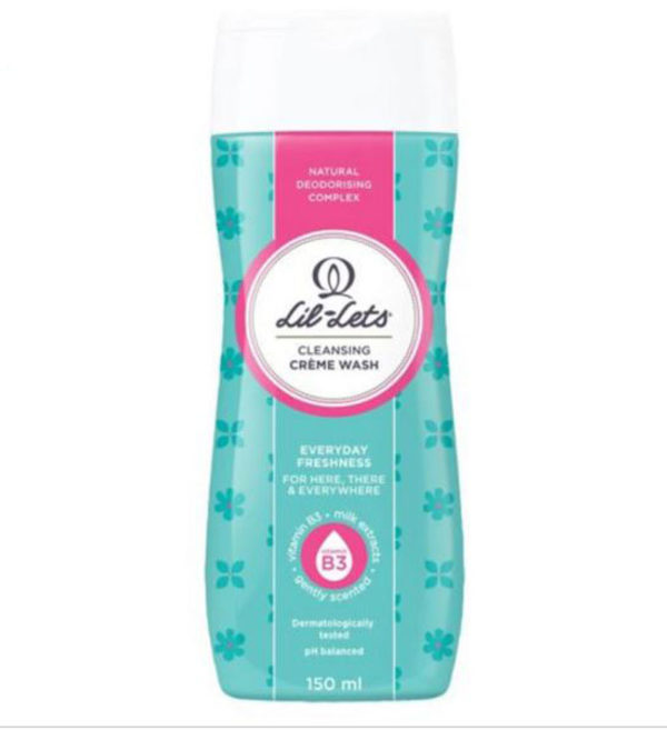 Lil-Lets Cleansing Creme Wash 150ml