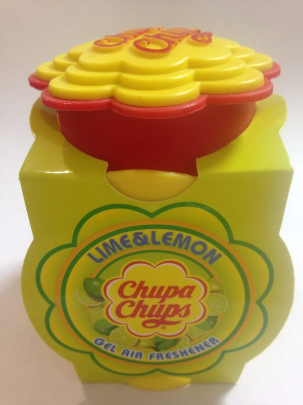 chupa chups lime & lemon gel air freshener 73g