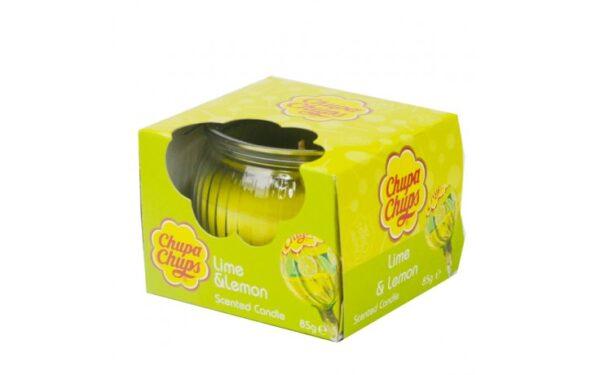 Chupa Chups Lime & Lemon Scented Candle 85g