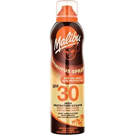 Malibu Continuous Spray Dry Oil With SPF30 175ml