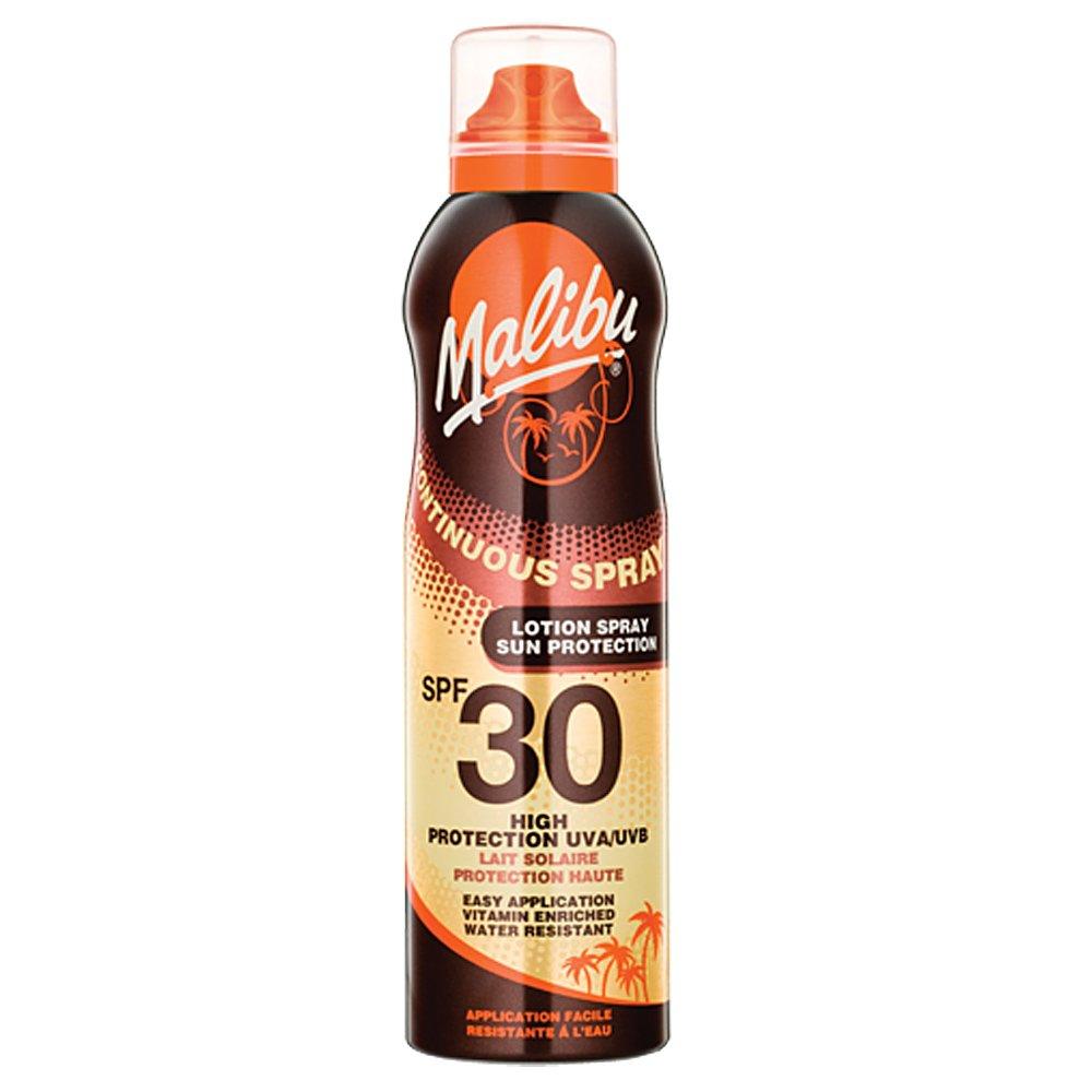 Malibu Continuous Spray lotion Spray With SPF30 175ml