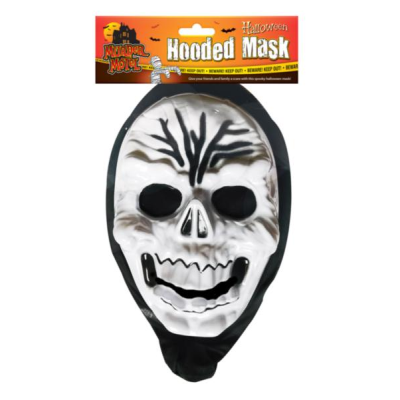 Halloween Murder Motel Spooky Hooded Mask