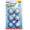 Mighty Burst 6 Pack Toilet Block Fresh Blues