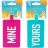2 Luggage Tag Mine & Yours