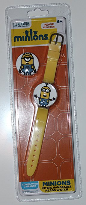 Despicable Me Minions Child's Watch With Interchangeable