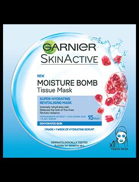Garnier Skin Active Moisture Bomb Dehydrated Skin Tissue Mask 32g