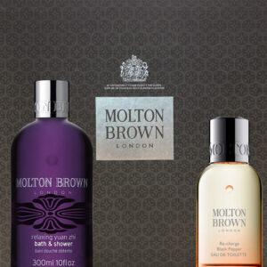 Molton Brown 2 Piece Gift Set Brown box