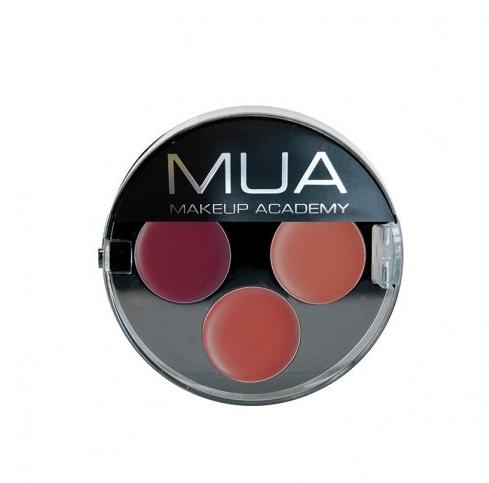 MUA Makeup Academy Lipstick Trio - Siren