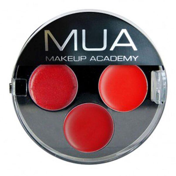 MUA Makeup Academy Lipstick Trio - Temptress
