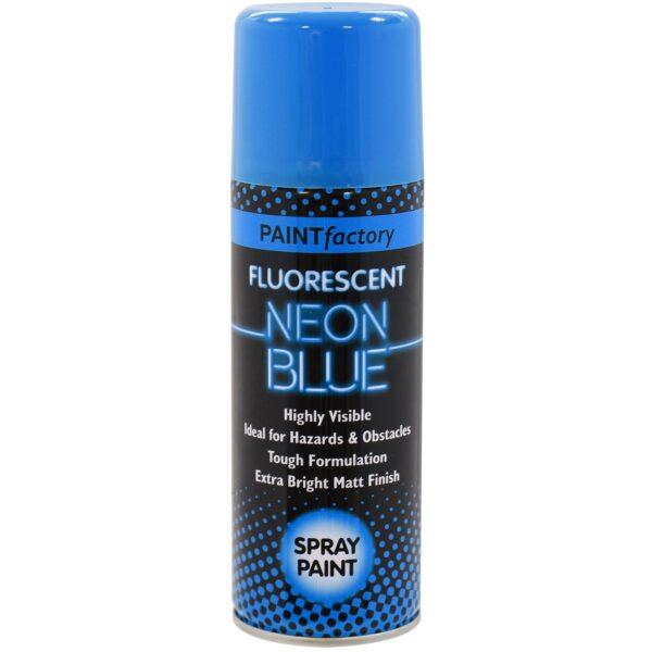 Paint Factory Fluorescent Neon Blue Spray Paint 200ml