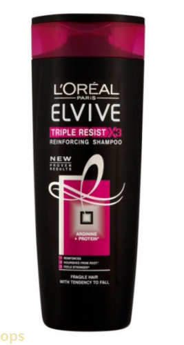 L'Oreal Elvive Triple Resist Shampoo 400ml