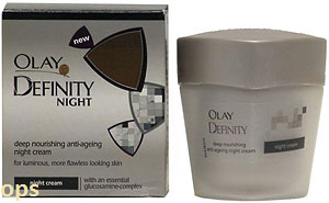 OLAY DEFINITY NIGHT DEEP NOURISHING ANTI-AGEING NIGHT CREAM 50ML