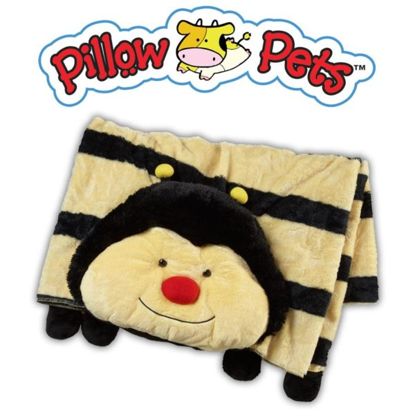 Pillow pets bee blanket