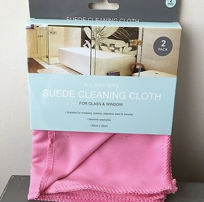 MicroFibre Suede Cleaning Cloth 2 pack