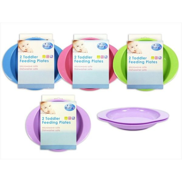 Pack of 2 Toddler Plates