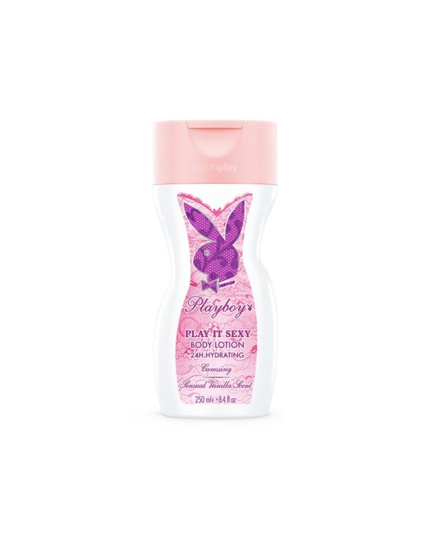 Playboy Play it sexy Body Lotion sensual vanilla scent 250ml