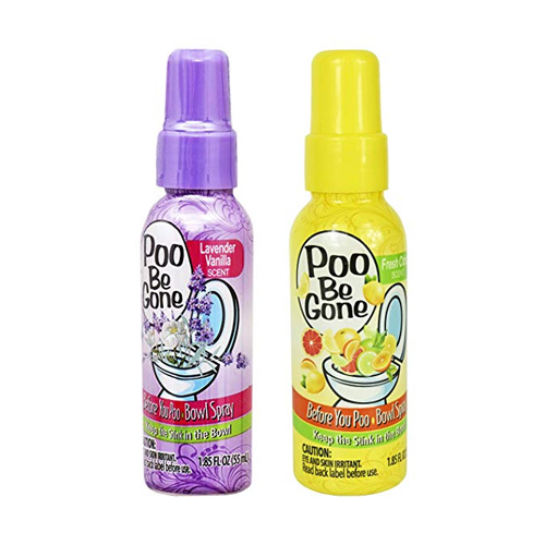 Poo Be Gone Toilet Bowl Spray