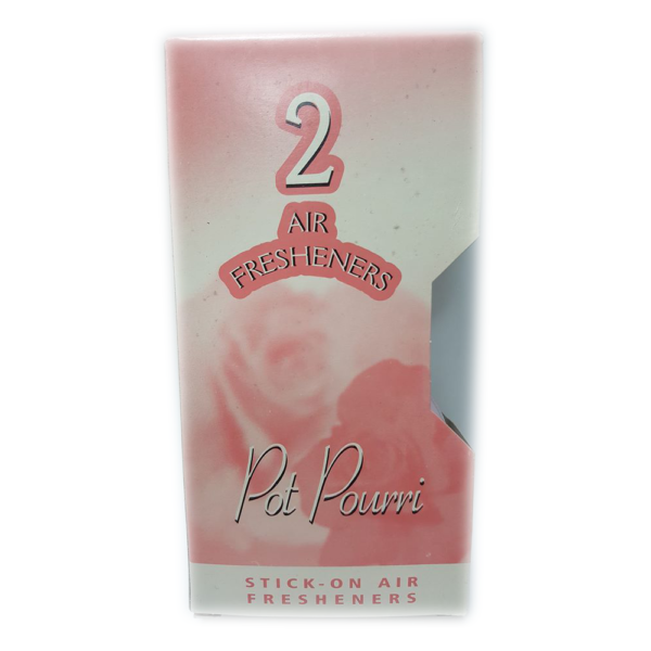 2 Pot Pourri Stick-On Air Fresheners
