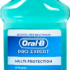 ORAL B MOUTH WASH 250ML ALCOHOL FREE