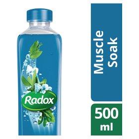 Radox Muscle Soak with Sage & Sea Minerals 500ml