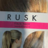 Rusk Faux Hair Red Blonde Hair Extension