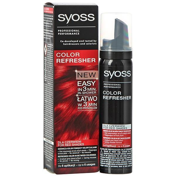 Syoss Professional Performance Color Refresher For Red Shades 75ml