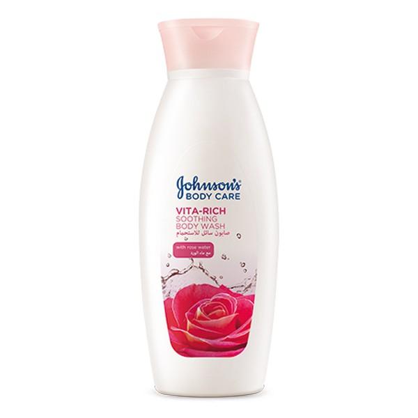 Johnson's Body Care Vita Rich Body Wash Rose Water 400ml