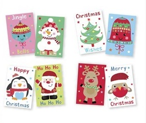 rsw Merry Christmas Greetings Cards
