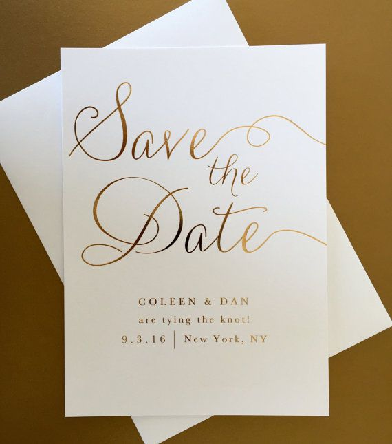 Bride & Groom 8 Save the Date Cards