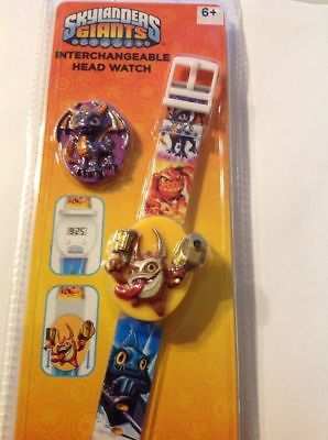 Skylanders Giants Interchangeable Head Watch