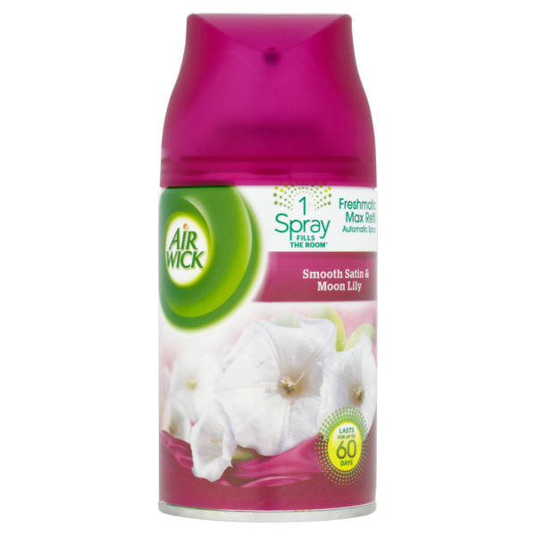 AIR WICK FRESHMATIC MAX REFILL SMOOTH SATIN & MOON LILY 250ml