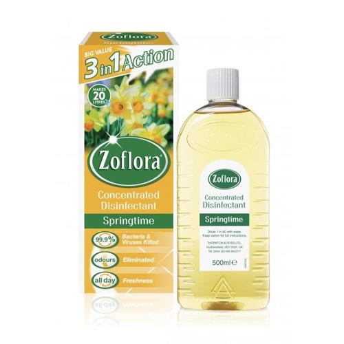 Zoflora Antibacterial Disinfectant Springtime 500ml