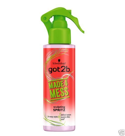 Schwarzkopf Got2b Made4Mess Spritz 150ml