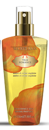 Secret Sass Fragrance Mist Body Spray 125ml True Romance