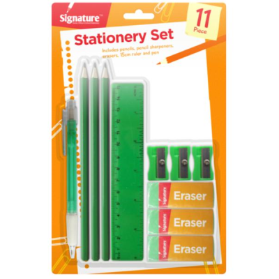 Stationary Set 11 piece back to school